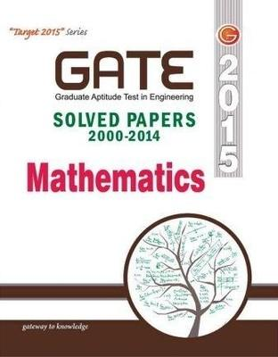 Gate Paper Mathematics (Solved Paper 2000-2014) 11/e Code-GP6 (English) 11th  Edition by GKP