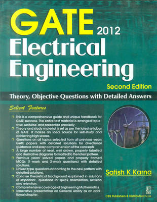 GATE - ELECTRICAL ENGINEERING , 2E (2012) (English) by Karna K S