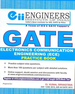 GATE - Electronics Communication Engineering (ECE) Practice Book (English) 1st Edition by Kunal Srivastava