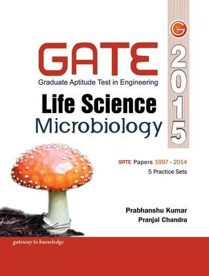 GATE - Life Science Microbiology 2015 (English) 12th  Edition by GKP