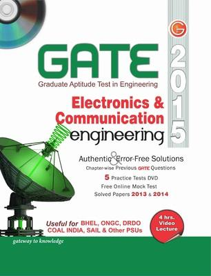 GATE 2015 - Electronics & Communication Engineering (With DVD) (English) 12th Edition