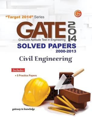 GATE Civil Engineering (2014) Solved Papers 2000 - 2013 (English) 11th  Edition by GKP