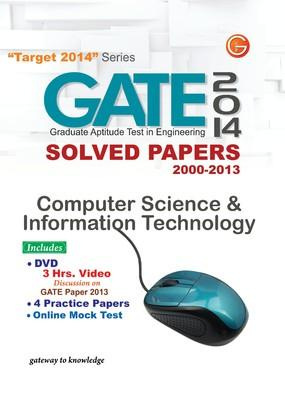 GATE Computer Science and Information Technology (2014) Solved Papers 2000 - 2013 (English) 11th  Edition by G K P