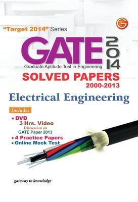 GATE Electrical Engineering (2014) Solved Papers 2000 - 2013 (English) 11th  Edition by G K P