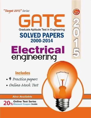 GATE Electrical Engineering 2015 : Solved Papers (2000 - 2014) (English) 12th  Edition by GKP