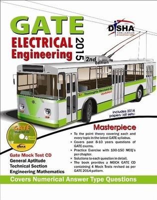 GATE Electrical Engineering Masterpiece 2015 (With CD) (English) 2nd  Edition by Disha Experts