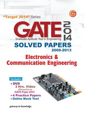 GATE Electronics and Communication Engineering (2014) Solved Papers 2000 - 2013 (English) 11th  Edition by G K P