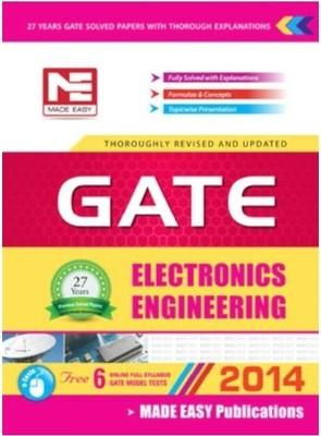 GATE Electronics Engineering - 2014 (English) by Made Easy