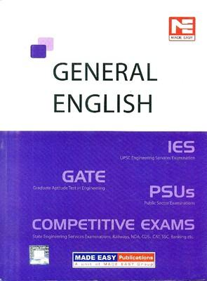 GATE IES PSUs General English: Competitive Exams (English) 2nd Edition by Made Easy
