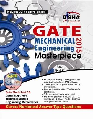 GATE Mechanical Engineering Masterpiece 2015 (With CD) (English) 2nd  Edition by Deepak Pathak