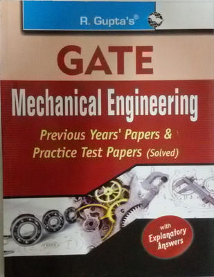 GATE Mechanical Engineering Papers (English) by RPH Editorial Board