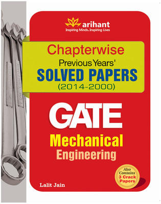 GATE - Mechanical Engineering : Chapterwise Previous Year