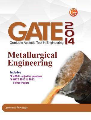 GATE Metallurgical Engineering (2014) (English) by GKP