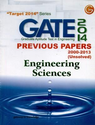Gate Paper Engineering Science 2014 PB 11th  Edition by GKP