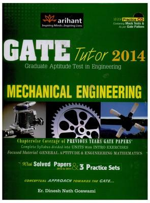 GATE TUTOR 2014 MECHANICAL ENGINEERING G477 (English) by Goswami D N