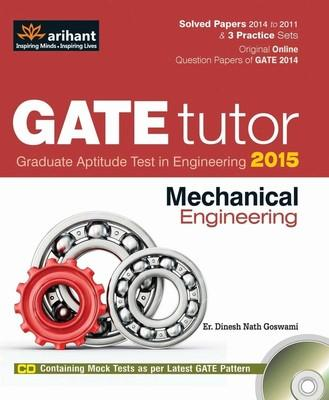 GATE Tutor 2015 - Mechanical Engineering (With CD) (English) 6th Edition