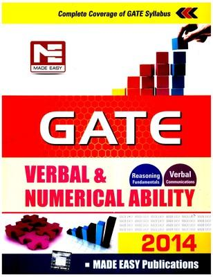 GATE Verbal & Numerical Ability - 2014 (English) by Made Easy