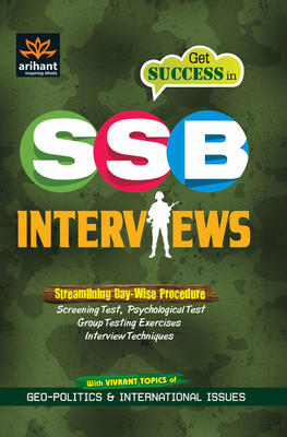 Get Success in SSB Interviews (English) 1st Edition by Arihant Experts