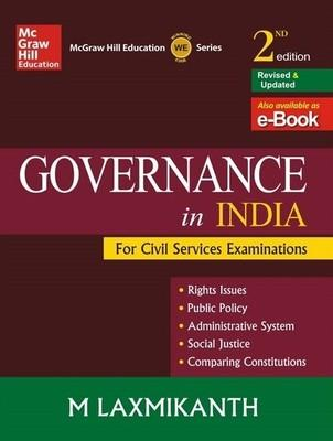 Governance in India for Civil Services Examinations (English) 2nd  Edition by M Laxmikanth