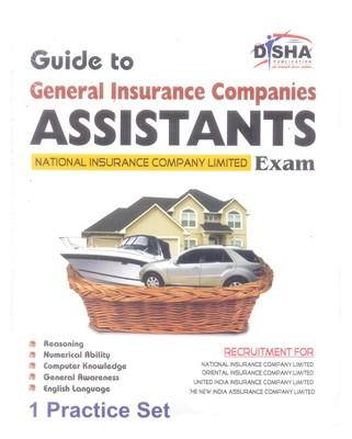 Guide to GIC - General Insurance Companies : Assistants National Insurance Company Limited Exam with 1 Practice Set : Assistants National Insurance Company Limited Exam with 1 Mock Test (English) by Disha Experts