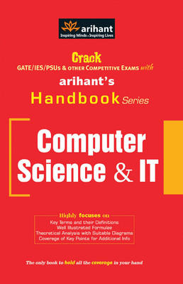 HANDBOOK OF COMPUTER SCIENCE AND IT G506 (English) by Expert Compilations