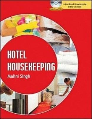 Hotel Housekeeping (with Video CD) (English) 1st  Edition by Malini Singh