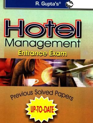 Hotel Management Entrance Exam Previous Papers (English) by RPH Editorial Board
