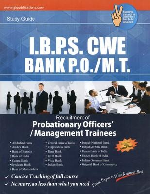 I.B.P.S CWE Bank P.O./M.T Recruitment Guide (English) by G K
