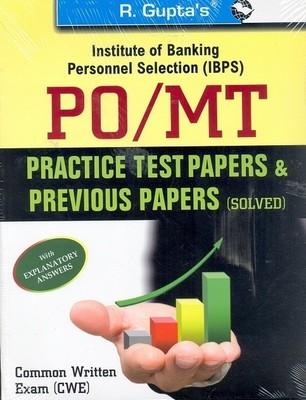 IBPS PO/MT Common Written ExamPractice Test Papers & Previous Papers (Solved) (English) 1st  Edition by RPH Editorial Board