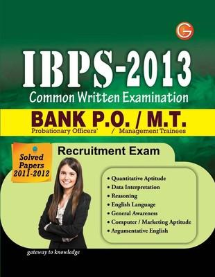 IBPS-2013 Common Written Examination: Bank P.O / M.T. Recruitment Exam (English) by GKP