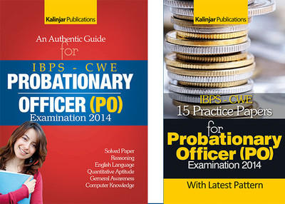 IBPS - CWE Probationary Officer (PO) Examination 2014 - An Authentic Guide / 15 Practice Papers (Set of 2 Books) (English) 3rd  Edition by Sachchida Nand Jha