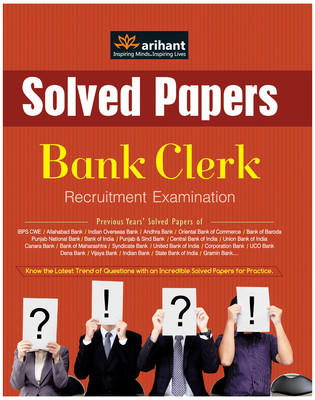 IBPS - Bank Clerk Recruitment Examination : Solved Papers (English) 4th  Edition by Arihant Experts