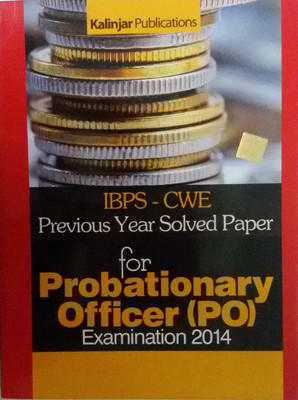 IBPS - CWE 15 Practice Papers for Probationary Officer Examination 2014 (Set of 2 Books) by Sthobir Dasgupta