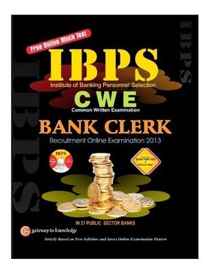 IBPS - CWE Bank Clerk Recruitment Online Examination - 2013 with CD (English) 5th Edition by G K P
