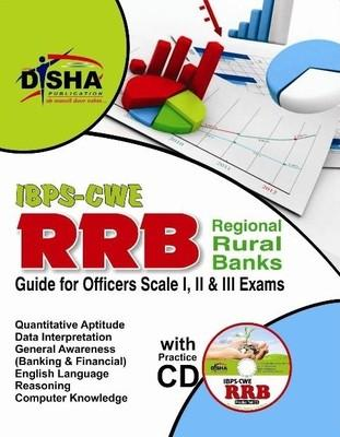 IBPS - CWE RRB - Guide for Officers Scale 1, 2 & 3 Exams (With CD) (English) 2nd  Edition by Disha Experts