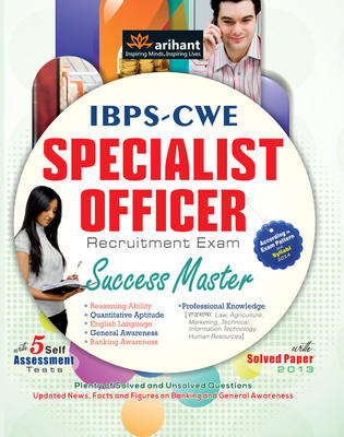IBPS - CWE Specialist Officer Recruitment Exam Success Master (English) 4th Edition by Experts Compilation