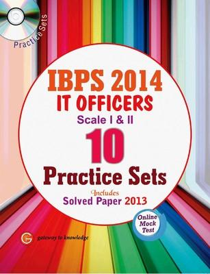 IBPS 2014 IT Officers Scale I - II (10 Practice Sets) (English) 1st  Edition by GKP