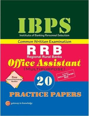 IBPS Common Written Examination - RRB Office Assistant (Multipurpose) : 20 Practice Papers (English) by GKP