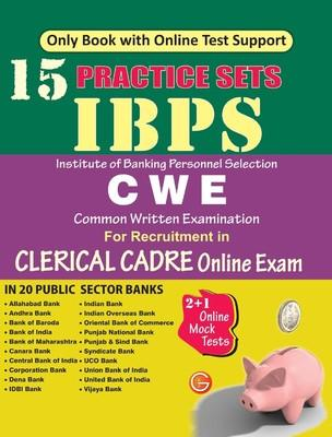 IBPS CWE Clerical Cadre 15 Practice Sets (Online Exam) (English) by GKP