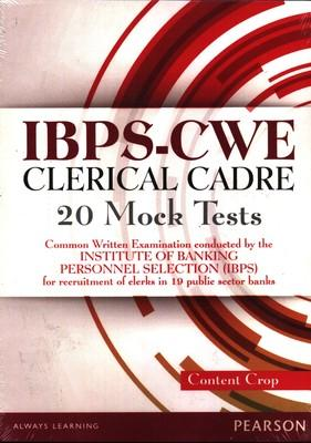 IBPS-CWE Clerical Cadre: 20 Mock Tests (As per the Latest Format) by Editorial Team Of Content Crop