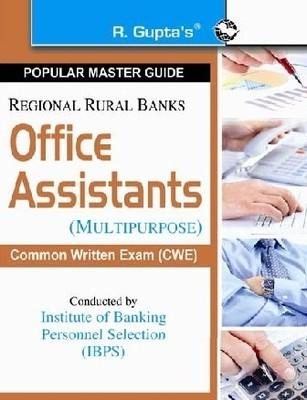 IBPS CWE Regional Rural Banks Office Assistants (Multipurpose) (English) by RPH Editorial Board