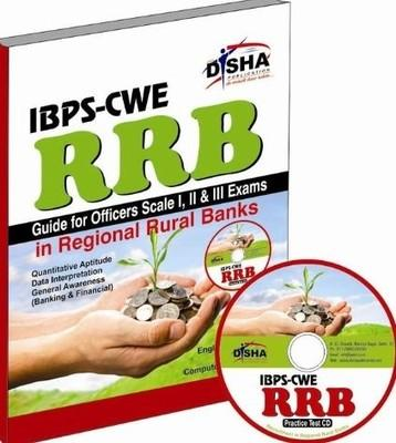 IBPS-CWE RRB Guide for Officer Scale 1, 2 & 3 Exam with Practice CD (English) by Disha Experts
