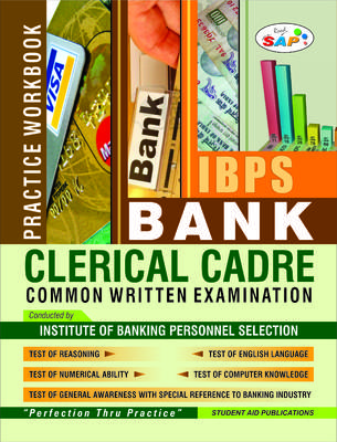 IBPS Institute of Banking Personnel Selection Bank Clerical Cadre Common Written Examination (English) by Student Aid Publications