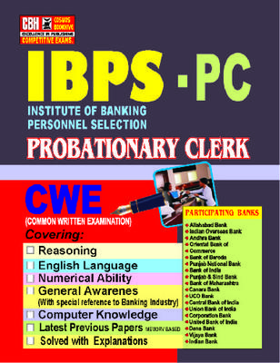 IBPS Probationary Clerical Exam Guide In English Medium by CBH Editorial Board