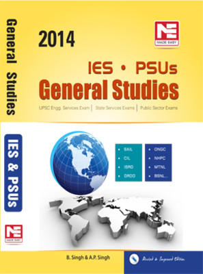 IES PSUs General Studies 2014 PB by Singh B