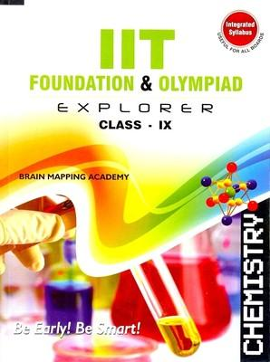 IIT Foundation Explorer: Chemistry (Class 9) (English) 01 Edition by BMA