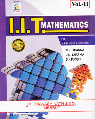IIT Mathematics For JEE (Main & Advanced) (Set Of 2 Volumes)