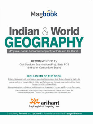 Indian & World Geography (English) 2nd  Edition by Arihant Experts