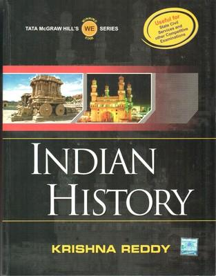 Indian History (English) 1st  Edition by Krishna Reddy