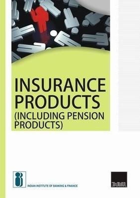 Insurance Products (including Pension Products) (English) by Finance Indian Institute Of Banking